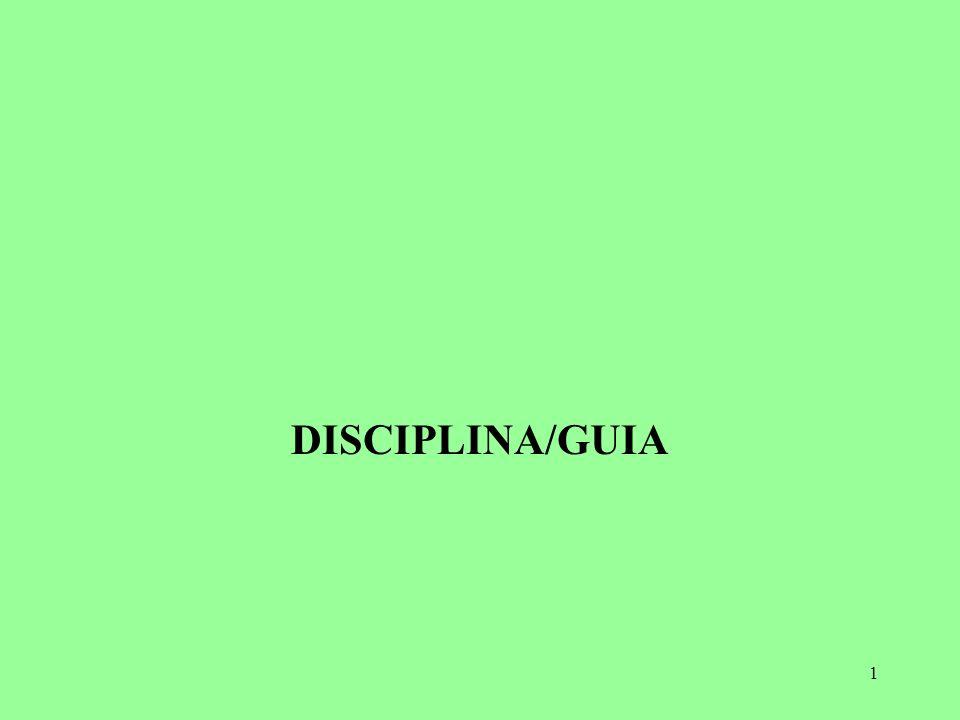 1 DISCIPLINA/GUIA