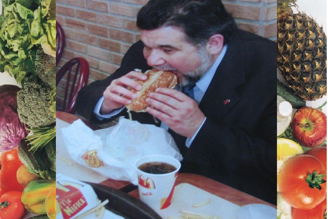 El Abogado dice: consigne que mi cliente apuntó directamente al dependiente de McDonalds que lo obligo a comer de más
