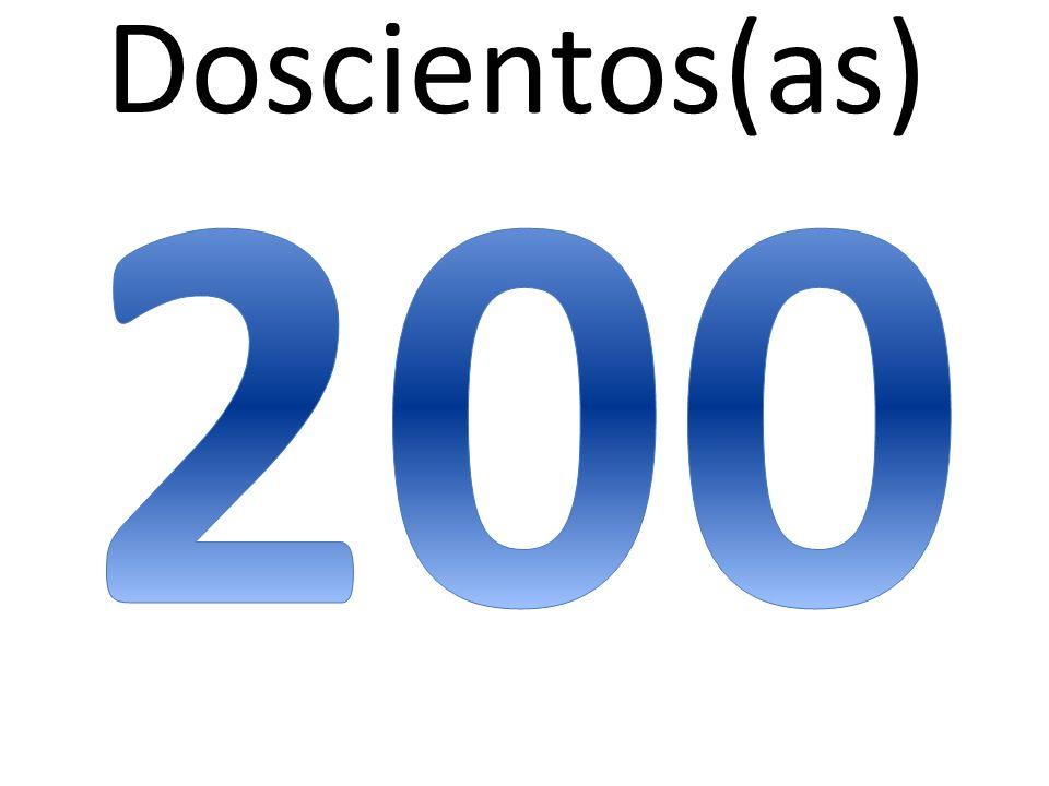 Doscientos(as)