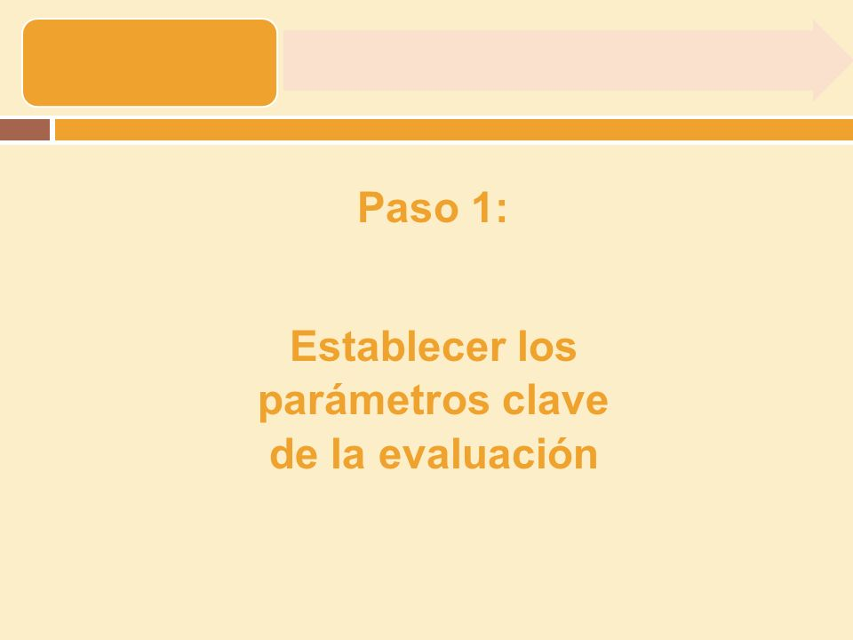 3.Definir el escenario de base 2.