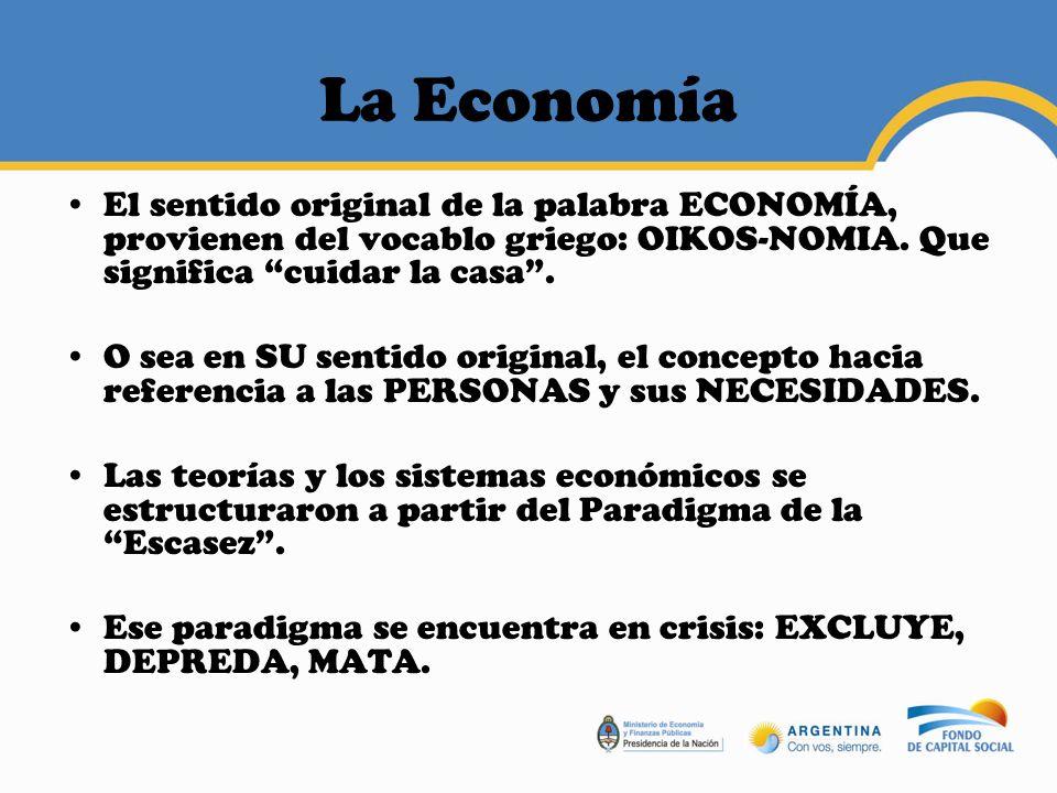 Economía Popular Aquello que hace la gente para sobrevivir.
