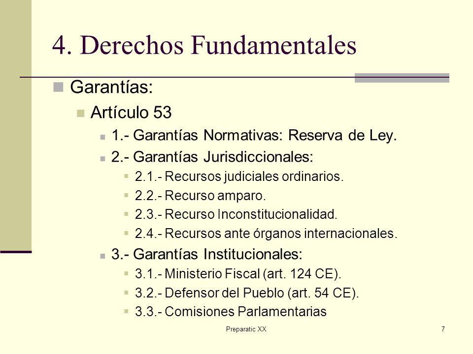 Preparatic XX8 5.Parte Orgánica Legislativo: 66 y ss.