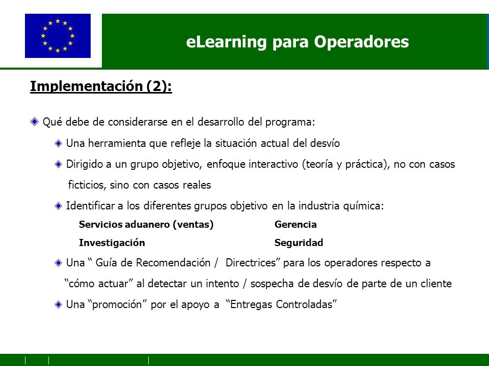 eLearning for operators Logo PERU Symposium (to de defined)