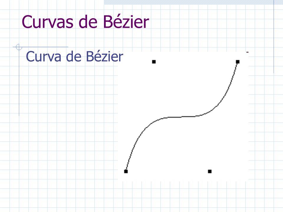 Curvas de Bézier Curva de Bézier