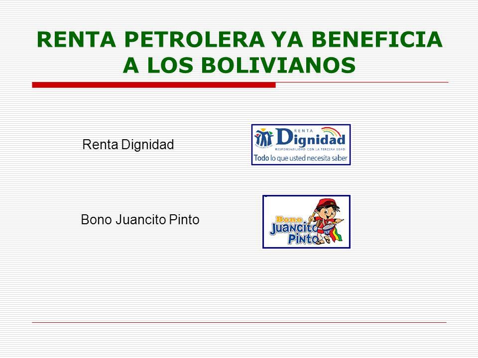 RENTA DIGNIDAD La Renta Dignidad fue creada por Ley 3791 (2007), es un pago vitalicio para todos los bolivianos y bolivianas mayores de 60 años.
