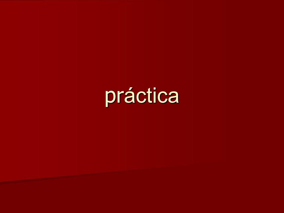 pr áctica