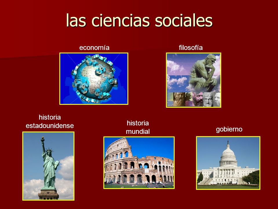 las ciencias sociales economía gobierno historia estadounidense historia mundial filosofía