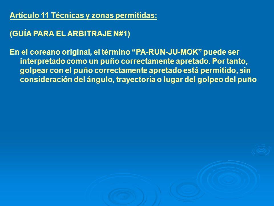 Artículo12 Puntos válidos: 3.