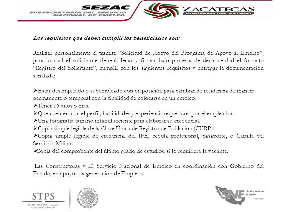 T.S.Julia Eleno Santacruz Subsecretaria Encargada del Servicio Nacional de Empleo Zacatecas Ing.