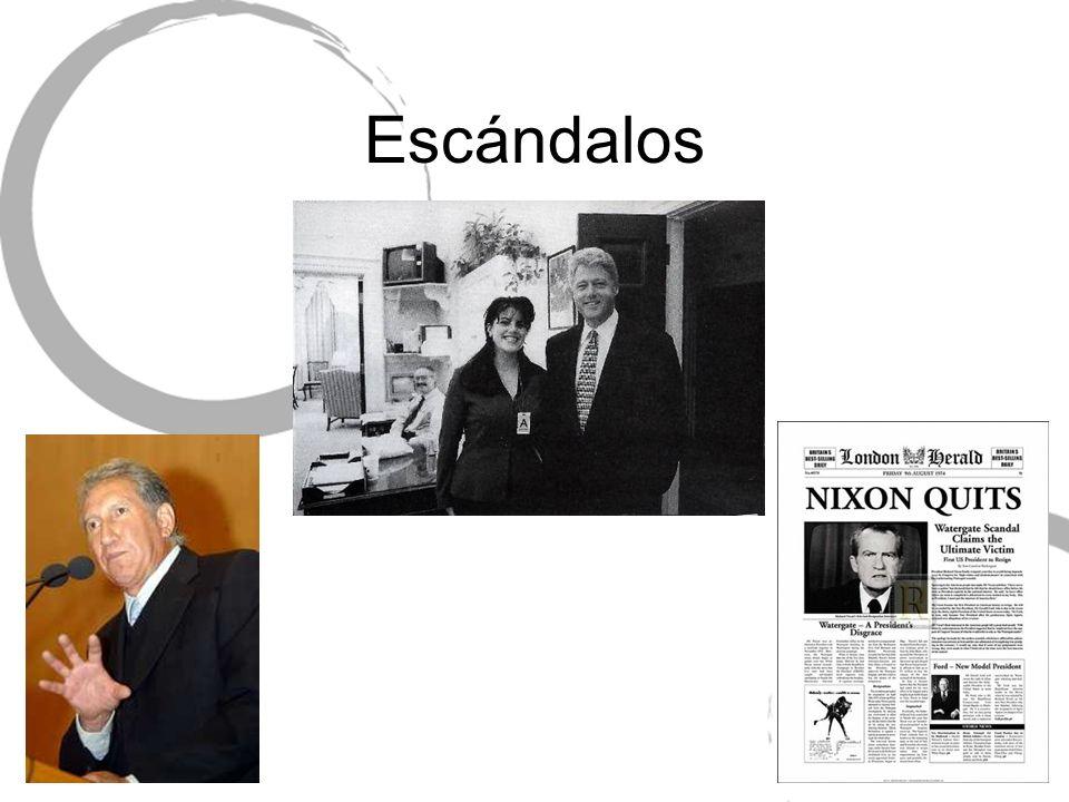 Escándalos
