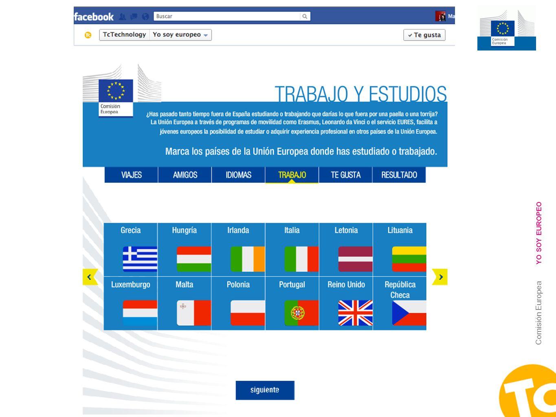 10 Comisión Europea YO SOY EUROPEO