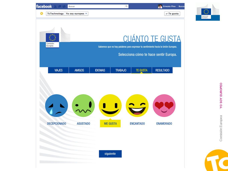 12 Comisión Europea YO SOY EUROPEO