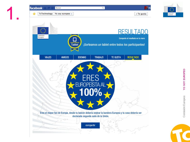 14 Comisión Europea YO SOY EUROPEO 1.