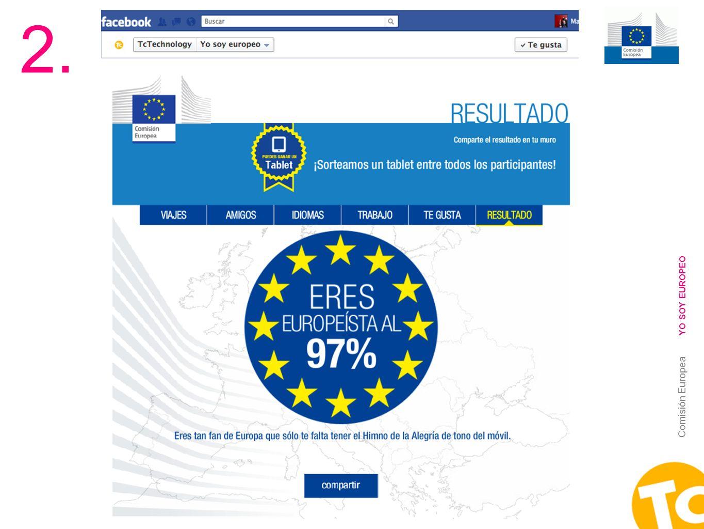 15 Comisión Europea YO SOY EUROPEO 2.