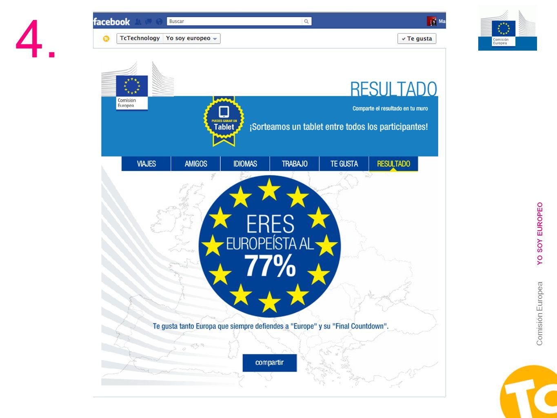 17 Comisión Europea YO SOY EUROPEO 4.