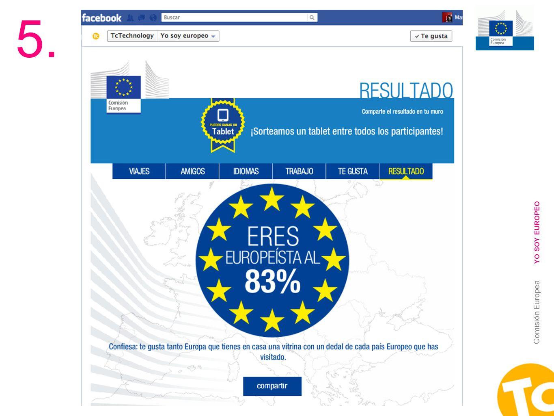 18 Comisión Europea YO SOY EUROPEO 5.
