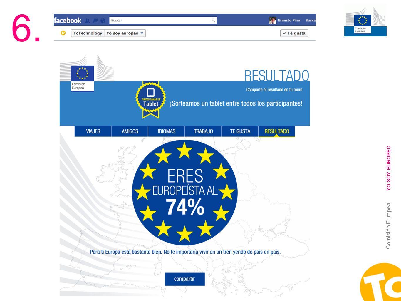19 Comisión Europea YO SOY EUROPEO 6.