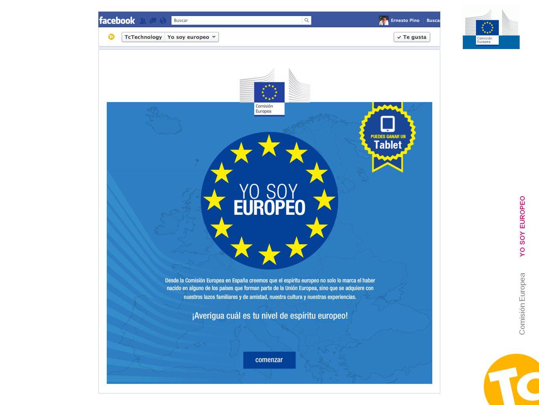 2 Comisión Europea YO SOY EUROPEO