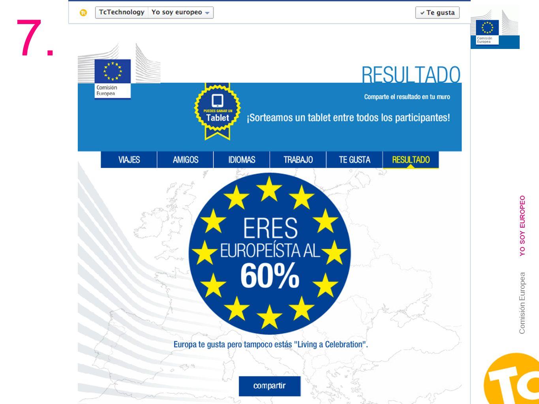 20 Comisión Europea YO SOY EUROPEO 7.