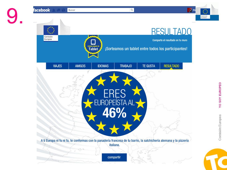 22 Comisión Europea YO SOY EUROPEO 9.