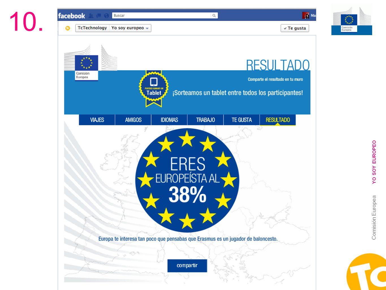 23 Comisión Europea YO SOY EUROPEO 10.