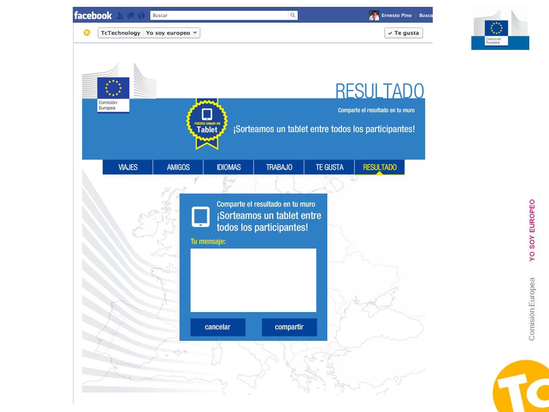 25 Comisión Europea YO SOY EUROPEO