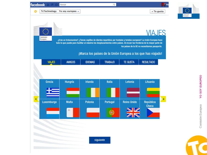 4 Comisión Europea YO SOY EUROPEO
