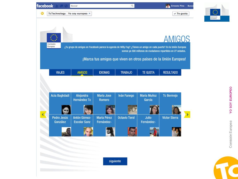 6 Comisión Europea YO SOY EUROPEO