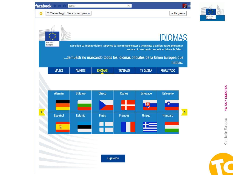 8 Comisión Europea YO SOY EUROPEO