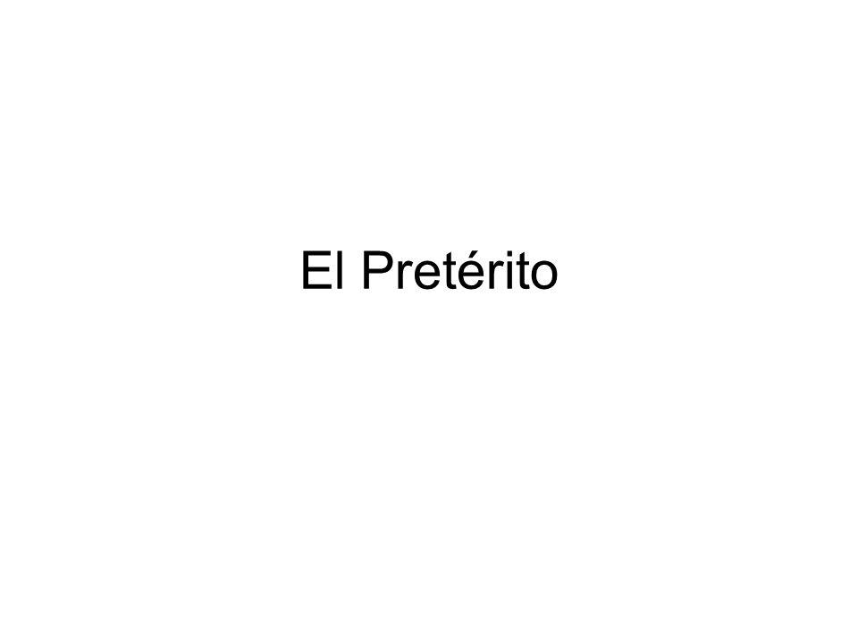 Completa las frases con el pretérito.1. ______________(ir) al mercado.*** 2.