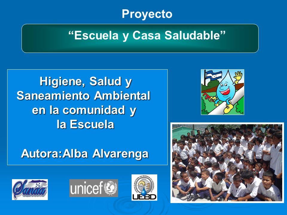 Antecedentes 1987- Creación (UEBD) dentro del SANAA 1996- Proyecto Escuela y Casa Saludable 1998- 2001(1-2) revisión 1999- 2000 área rural,Objetivos Aplicación criterios / estrategias metodologicas de educ.