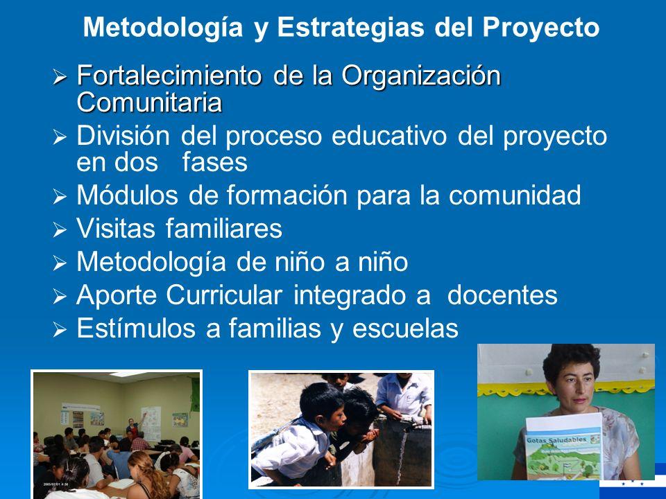 Resumen de la experiencia Resumen de la experiencia Presentación Proyecto, Organización comunitaria y escolar.