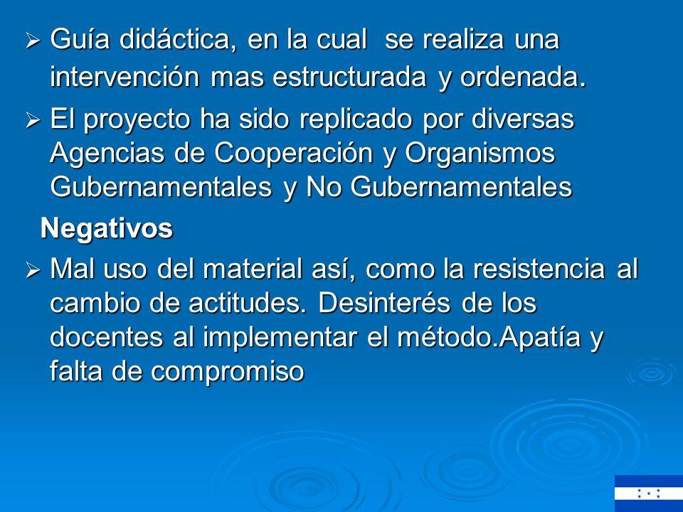 Conclusione s Conclusione s Positivas Metodología compleja/ riqueza de elementos.