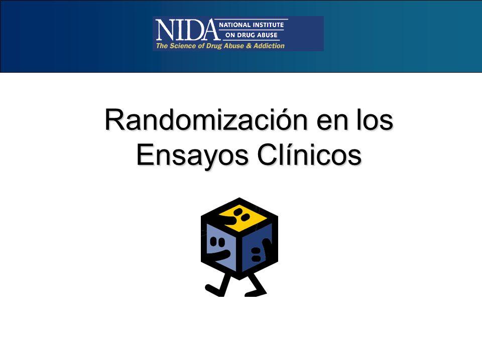 Randomización en los Ensayos Clínicos