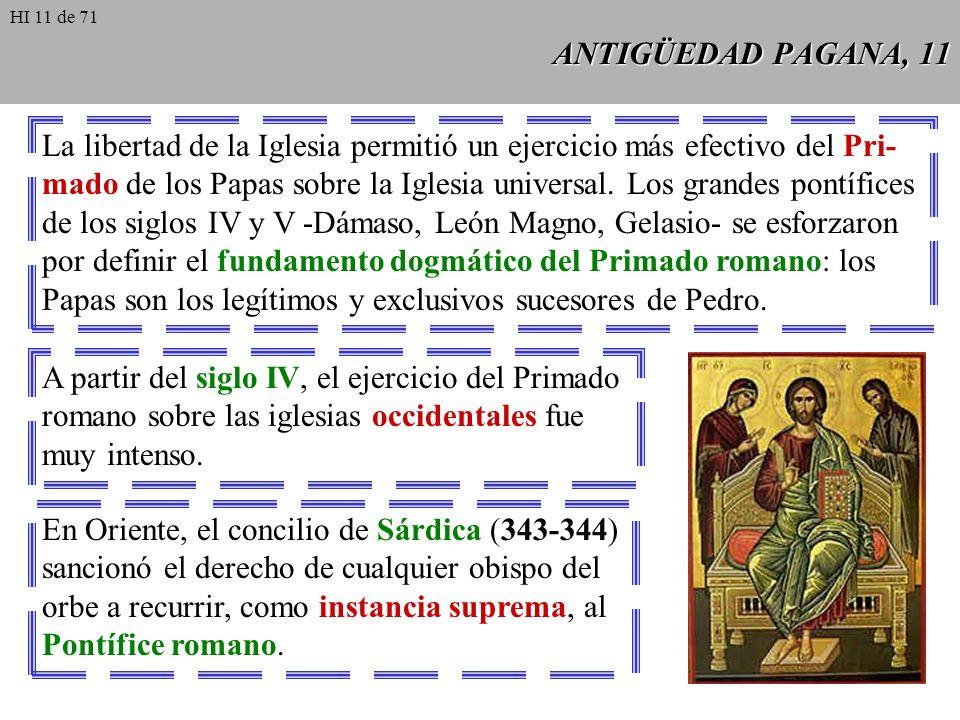 ANTIGÜEDAD PAGANA, 10 El avance del cristianismo no se interrumpió tras la muerte de Constantino, si se exceptúa el frustrado intento de restauración