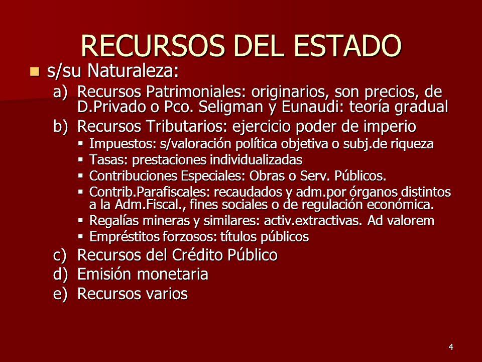 5 I.3.2.CRITERIOS PARA DEFINIR EL NIVEL DE GOBIERNO.