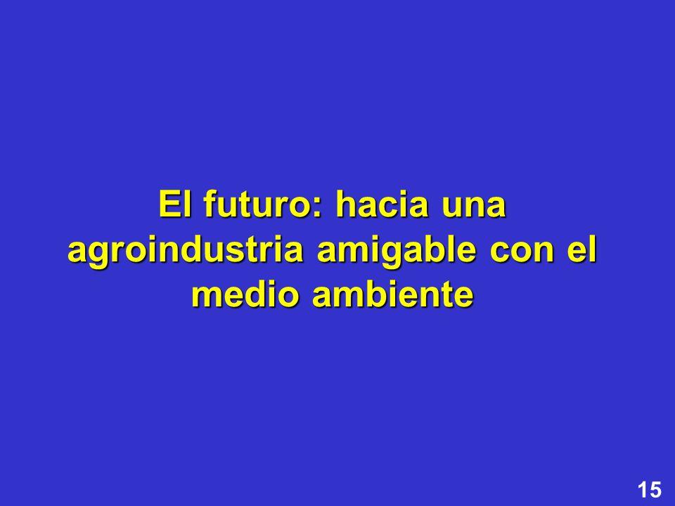 15 El futuro: hacia una agroindustria amigable con el medio ambiente