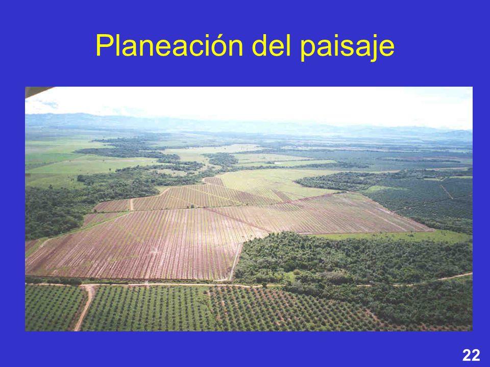 22 Planeación del paisaje