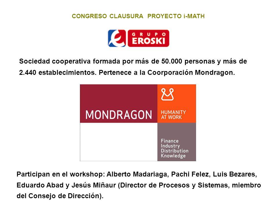 CONGRESO CLAUSURA PROYECTO i-MATH 3.