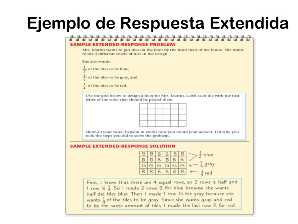 Ejemplo de Respuesta Extendida