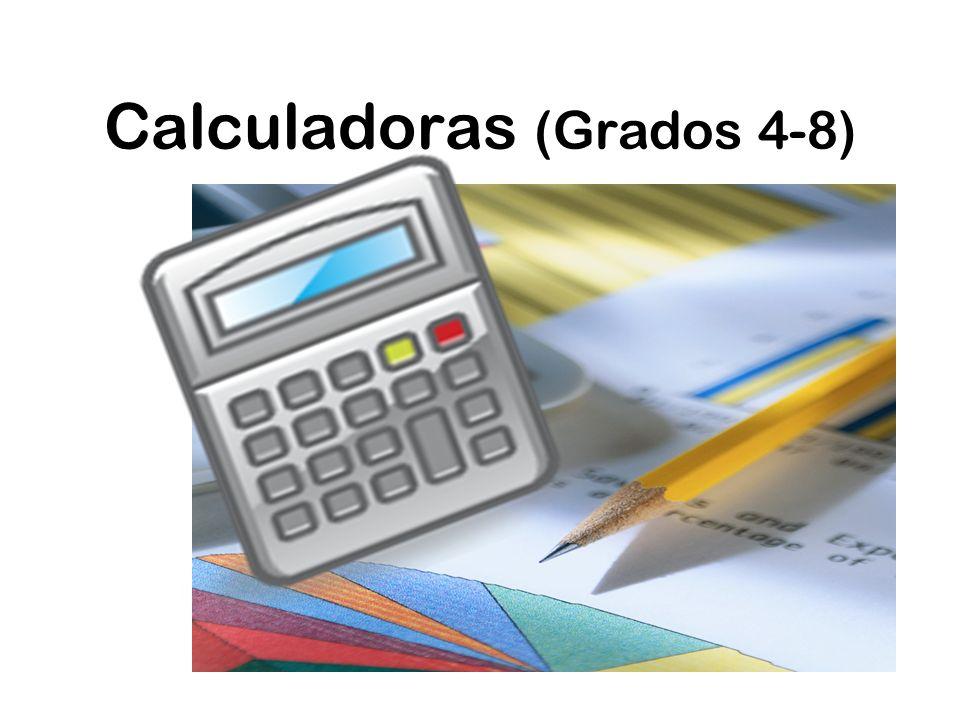 Calculadoras (Grados 4-8)