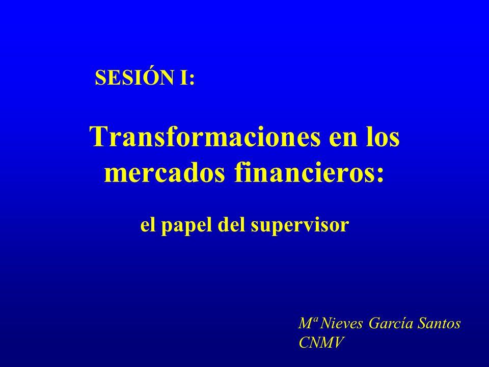 Transformaciones en los mercados de valores: el papel del supervisor 11 ARMONIZACIÓN DE NORMATIVA ¿Institución supervisora competente?.