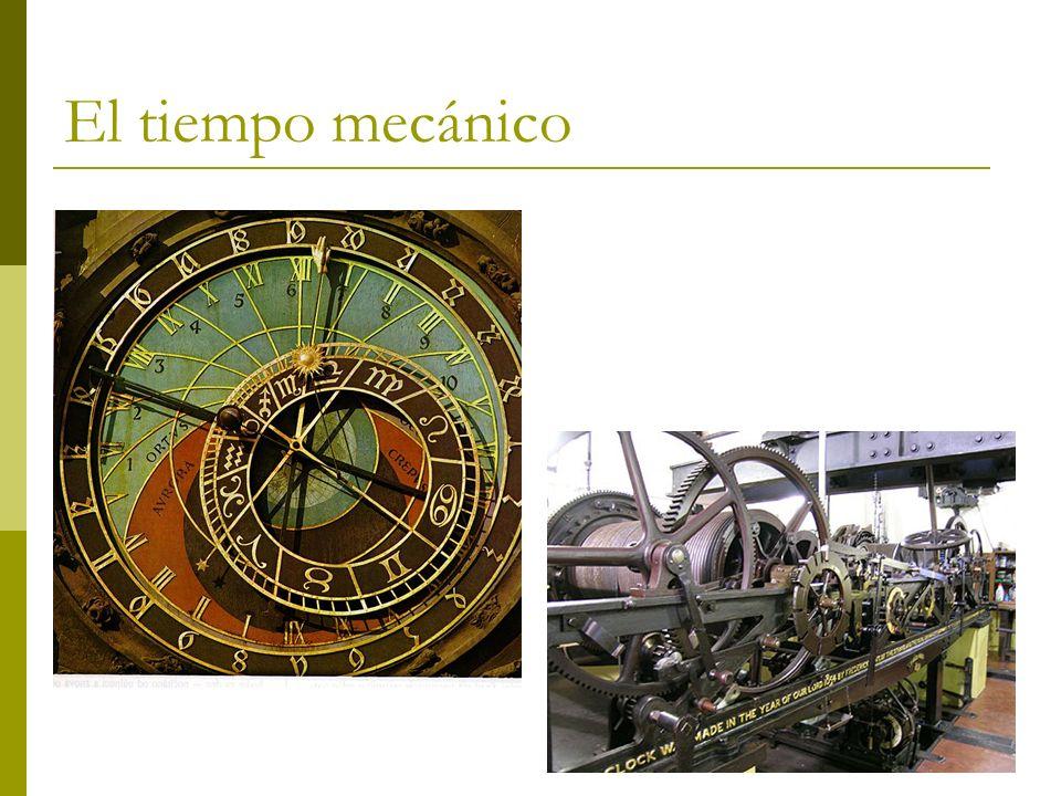 El tiempo mecánico