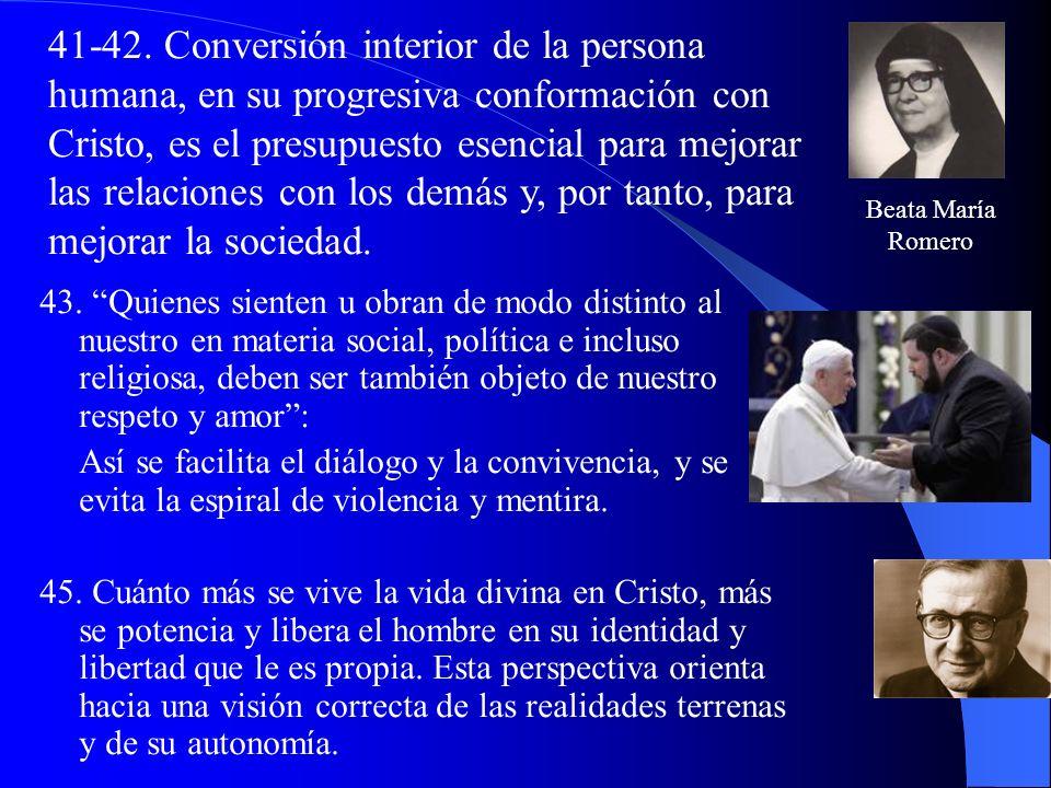 -Reconocer la dignidad de cada ser humano; entender la sociabilidad constitutiva de cada persona; y actuar en el mundo descubriendo y respetando las l