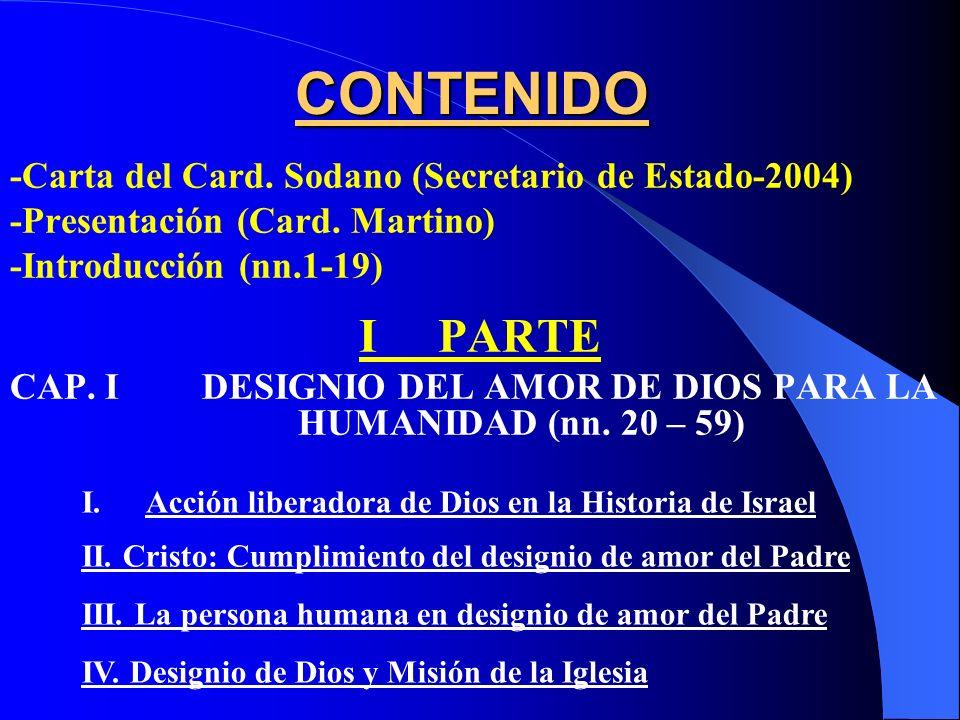 Introducción Designio de Amor de Dios para la humanidad (nn. 1-59) COMPENDIO DE LA DOCTRINA SOCIAL DE LA IGLESIA (2004)