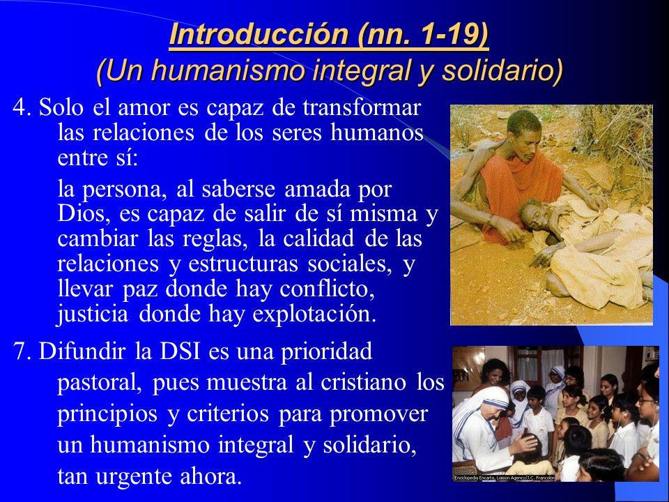 Presentación La finalidad del Compendio es transformar la realidad social con la fuerza del Evangelio, tal que la Iglesia, que es experta en humanidad