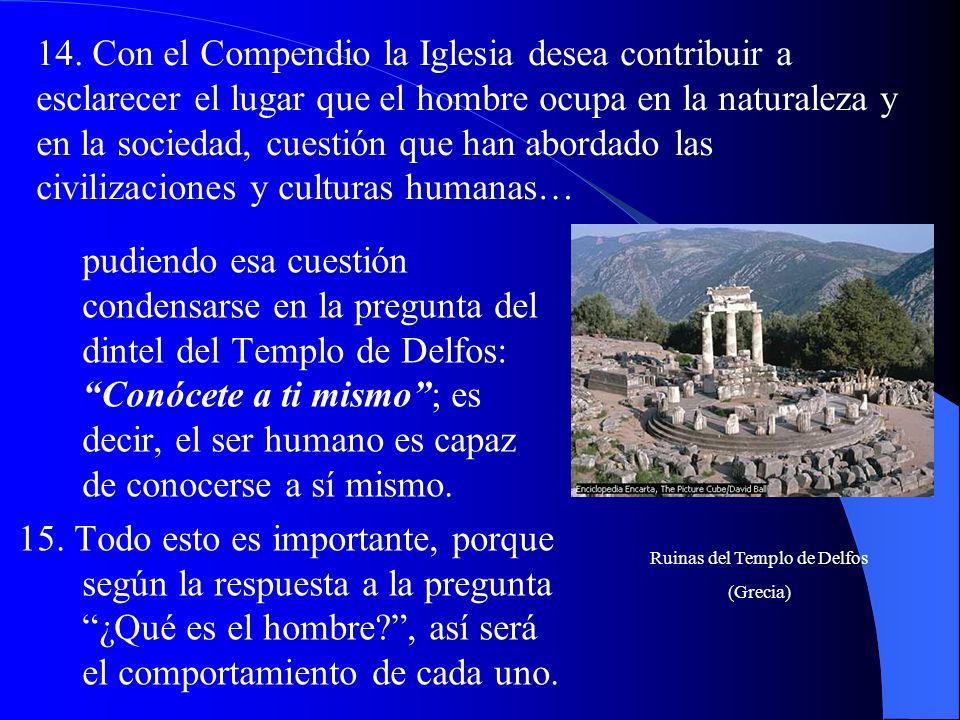 8. El presente Compendio busca presentar de manera completa y sistemática, aunque sintética, la enseñanza social fruto de la sabiduría de la Iglesia.