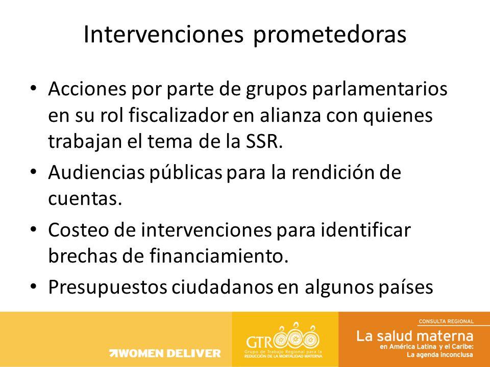 Compromisos (globales, regionales, nacionales) plasmados y visibles en la política nacional ej: planes de salud Transparencia organismos multilaterales sobre sus inversiones, en dónde invierten, en qué, y cuánto.