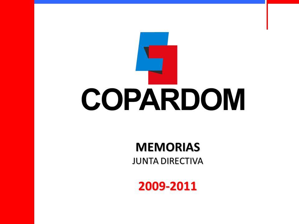 MEMORIAS JUNTA DIRECTIVA 2009-2011