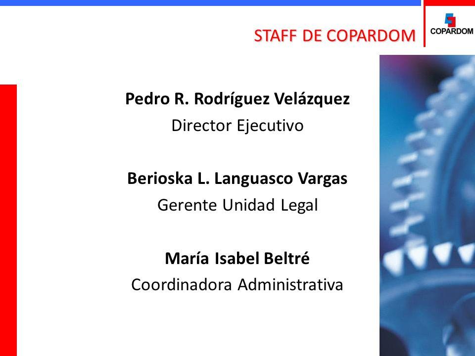 Pedro R. Rodríguez Velázquez Director Ejecutivo Berioska L.